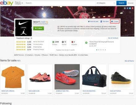 ebay kontakt prodavca