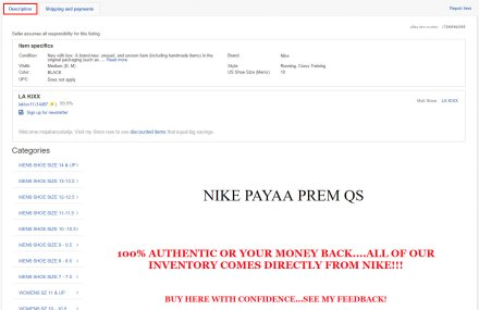 ebay oglas opis proizvoda