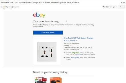ebay potvrda slanja