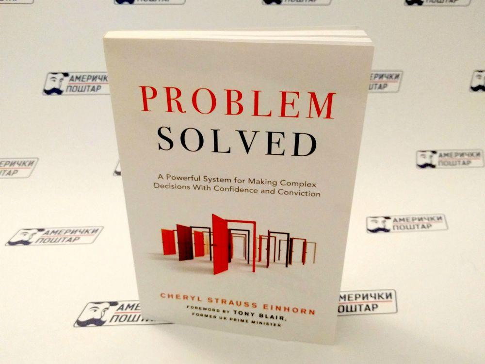 Problem Solved knjiga na Američki poštar pozadini
