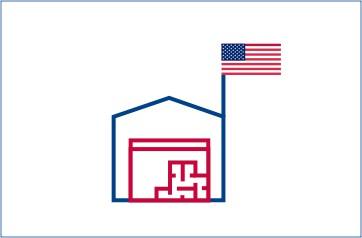Adresa u Americi ilustracija