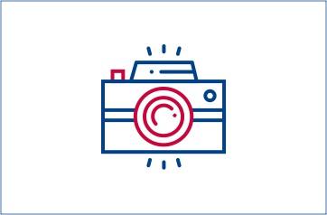 Fotoaparat ilustracija
