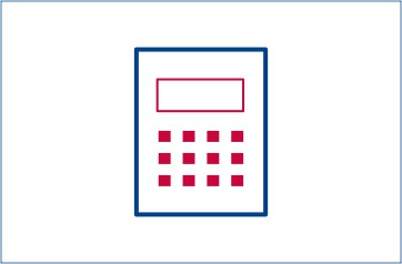 Kalkulator ilustracija